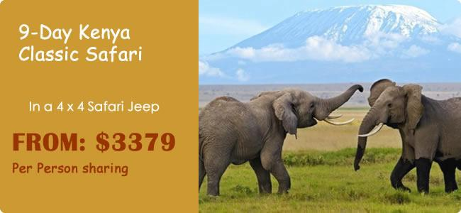9-Day Kenya Classic Safari