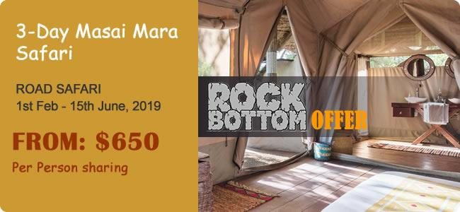 3-Day Masai Mara Safari